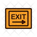 Exit Fire Exit Emergency Exit Icon
