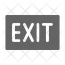 Exit Close Sign Icon