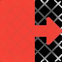 Move Right Arrow Icon