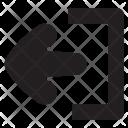 Exit Signout Icon