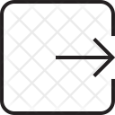 Exit Logout Logoff Icon