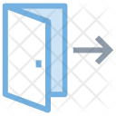 Door Exit Out Icon