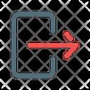 Exit Logout Export Icon