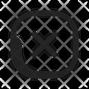 Exit Cancel Delete Icon