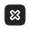 Cross Deny Cancel Icon