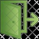E Commerce Door Exit Icon