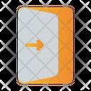 Exit Door Quit Icon