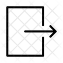 Exit Logout Close Icon