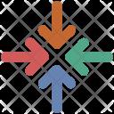 Exit Fullscreen Shrink Icon