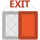 Exit Sign Out Icon