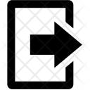Exit Out Logout Icon