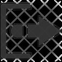 Exit Logout Back Icon