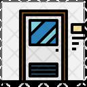 Furniture And Household Doorway Exit Door Icon