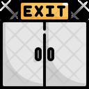 Exit Door Cinema Icon