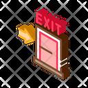 Exit Fire Danger Icon