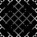 Exit Fullscreen Arrow Direction Icon