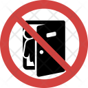 Exit not allowed Icon