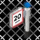 Exit Speed Icon