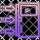 Exit Strategy Door Arrow Icon