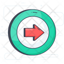 Exit Turn Icon