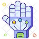 Exoskeleton Wired Gloves Technology Gloves Icon