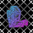 Exoskeleton Robot Robotic Icon