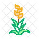 Exotic Flower Wood Icon