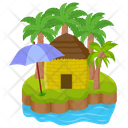 Exotic Island Icon