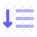 Expand Sort Order Sorting Icon