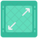 Expand Grow Width Icon