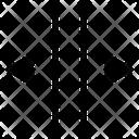 Expand Arrows Horizontal Icon