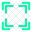 Arrow Button Zoom Icon