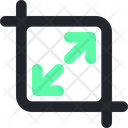 Expand Vector Sign Icon