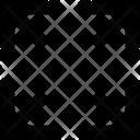 Expand Screen Arrows Icon