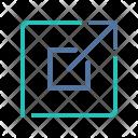 Fullscreen Expanding Maximize Icon