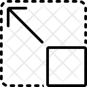 Expanded Enlarge Re Size Icon