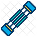 Chest Expander Muscle Icon