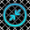 Expanding Right Zigzag Top Right Arrow Arrows Icon