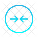 Expanding Right Left Zigzag Top Right Arrow Arrows Icon