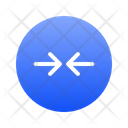 Expanding Right Left Icon