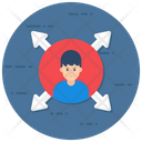 Expansion User Network User Enlargement Icon