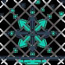 Expansion Spread Elaboration Icon