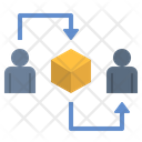 Goods Delivery Trading Icon