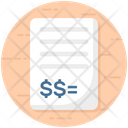 Expense Income List Payment Receipt Icon
