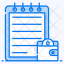 Expenses Income Wallet Icon