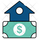 Property Value Home Value Expensive Home Icon