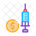 Expensive Medical Injection Icon