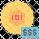 Expensive Token Price Icon