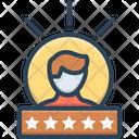 Experience Feedback Testimonial Icon