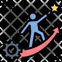 Experience Success Development Icon